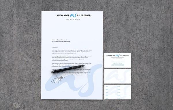 Corporate Design Alexander Sulzberger